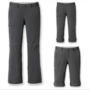 REI Sahara Roll-up Convertible Hiking Pants 14